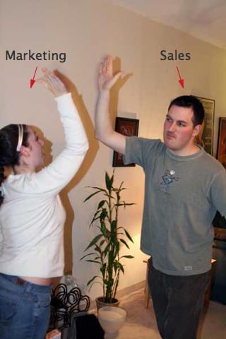 marketing processes and sales teamwork