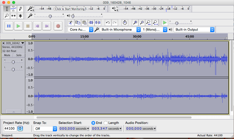 Transcribe .MP3 Audio to Text - Audacity